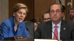 Sen. Warren grills Health Secy. Azar over Trump's promise to lower drug prices