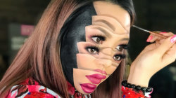 This viral artist brings her fears to life through makeup