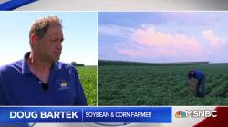 President Trump's trade war is hitting American farmers