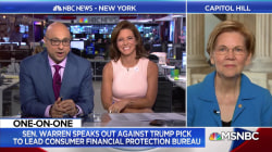 Sen. Elizabeth Warren talks Russia, immigration, and more