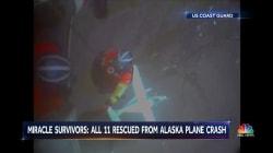 Alaska plane crash: 'Incredible' no one was killed, coast guard says