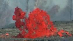 Fiery Kilauea volcano continues to spout lava on Hawai'i