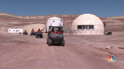Stretch of Utah desert used as training ground for mission to Mars