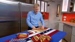 Kid-friendly hacks! How to make spiral-cut hot dogs, the perfect shape burgers