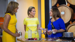 Kathie Lee and Hoda raise a glass for National Wine and Cheese Day!