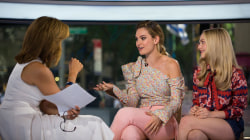 'Mamma Mia' stars Lily James, Amanda Seyfried reveal what it's like to work with Cher