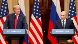 Trump faces backlash for aligning with Putin after summit