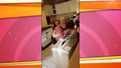 Watch 1 mom receive a surprising homecoming from daughter