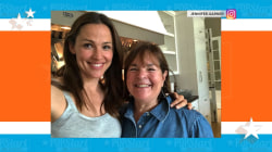 Jennifer Garner cooks with the Barefoot Contessa!