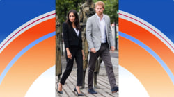 Cobblestone streets in stilettos? That's no problem for the Duchess of Sussex