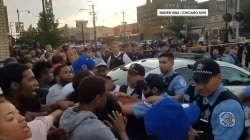 Violence breaks out in Chicago after fatal police shooting