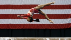 Simone Biles wins first competition since Rio Olympics