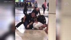 Watch doctor cause bizarre disturbance at Orlando airport