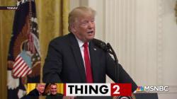 Trump calls CBP 'CBC' at event honoring agents
