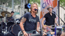 Keith Urban performs 'Blue Ain't Your Color' on the TODAY plaza
