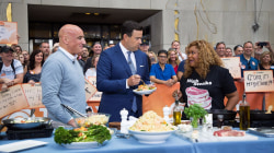 Chefs Anthony Scotto and Sunny Anderson make their cookout staples