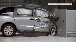 New crash testing on minivans raises safety concerns