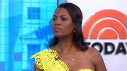 Omarosa Manigault Newman speaks to TODAY about her secret recordings, alleges there is audio of Trump saying N-word