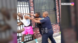 Baltimore police officer resigns after video of him beating a man went viral