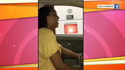 Watch this teen sing her way through a McDonald's drive-thru