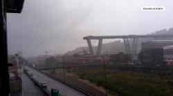 Bridge collapses in Genoa, Italy
