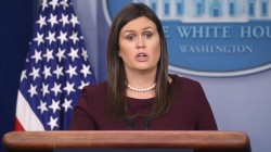 Sarah Huckabee Sanders: 'I can't guarantee' Trump never said N-word on tape