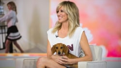 Debbie Gibson talks about her Hallmark movie, 'Wedding of Dreams,' with beloved dog in tow