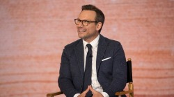 Christian Slater stars alongside Glenn Close in 'The Wife'