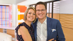 Dylan Dreyer and her husband have started the great sock debate
