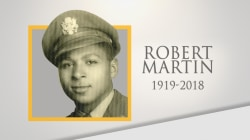 Life well lived: Tuskegee Airmen Capt. Robert Martin dies at 99