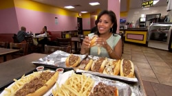 See Sheinelle Jones revisit her favorite Philly spots
