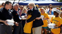 Trump visits the Carolinas in Florence aftermath