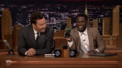 Kevin Hart can't get The Rock on FaceTime – but Fallon can!