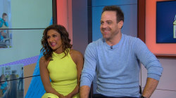 Sarayu Blue and Paul Adelstein talk new show, 'I Feed Bad'