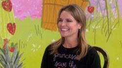 Savannah Guthrie talks new book, 'Princesses Save the World'