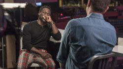 Kevin Hart cracks up showing Willie Geist his daughter's impression of him