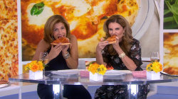 America's best pizza: Hoda and Maria Shriver try slices from top 2 spots