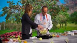 Make Lester Holt's famous apple strawberry cobbler