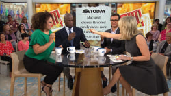 Mac and cheese candy canes?! Megyn Kelly tries them out