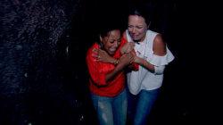 Sheinelle and Dylan brave Universal Studios' Halloween Horror Nights