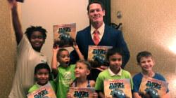 See John Cena meet young fans at 'Elbow Grease' book signing
