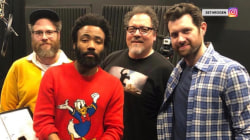 'Lion King' cast photo shared by Seth Rogen