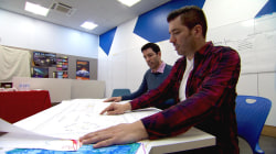 'Property Brothers' surprise kids in Harlem with new learning space