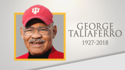Trailblazing football player George Taliaferro dies at 91
