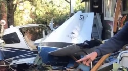 Arizona man survives after plane crashes into his home