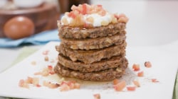 Joy Full Eats: Power up your mornings with protein-packed apple pancakes