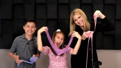 Jenna Bush Hager makes slime with YouTube stars Evan and Jillian!