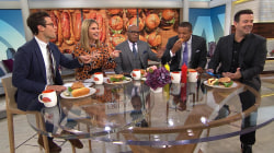 Is a hot dog a sandwich? TODAY anchors debate
