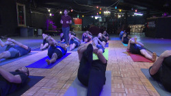 Inside Broga, the yoga class getting more men to the mats