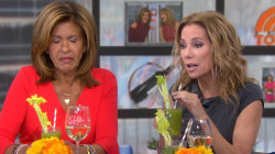 Hoda isn't so sure about Kathie Lee's celery juice